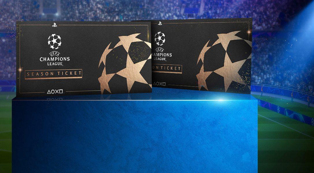 Remportez deux billets pour la Ligue des champions de l'UEFA à l'occasion de cette compétition monumentale du PlayStation FC