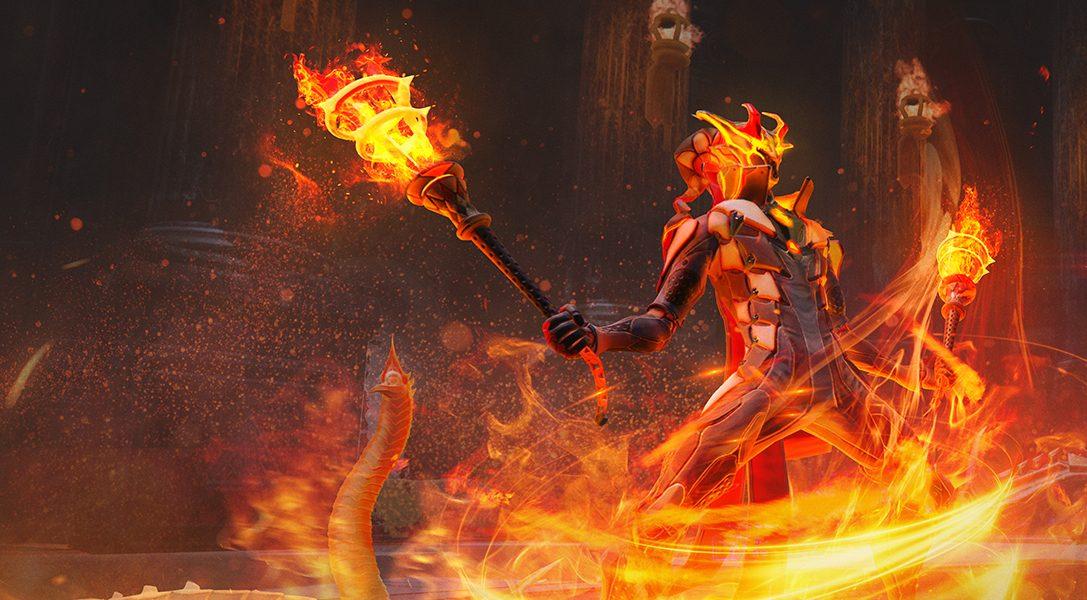 Mettez le feu au monde avec la nouvelle mise à jour de Skyforge et la classe inédite du Firestarter, disponible sur PS4 en septembre