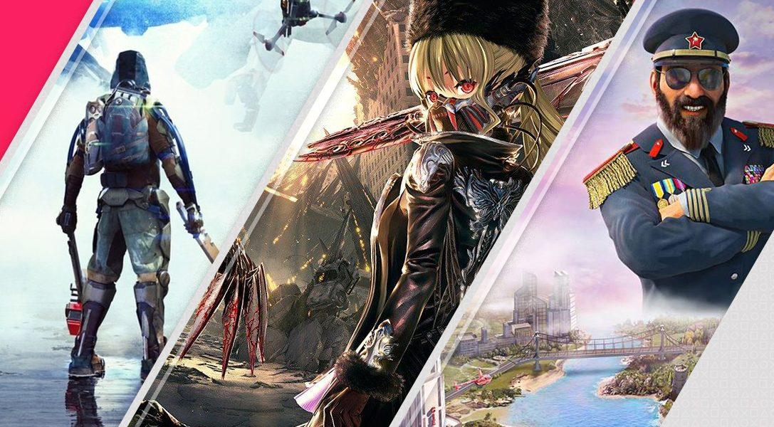 Voici vos nouvelles sorties de la semaine sur le PlayStation Store