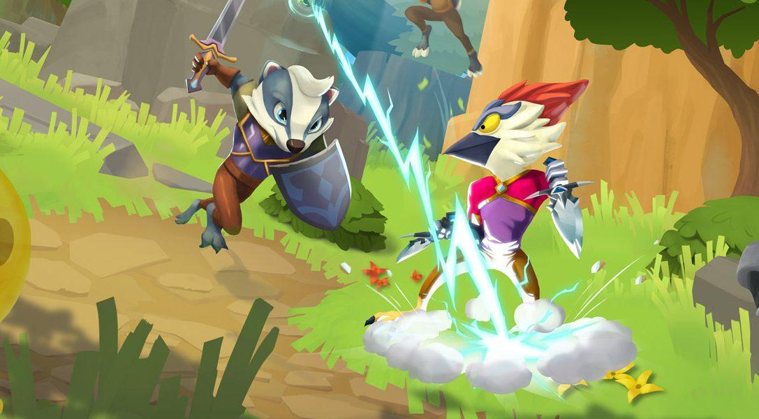 Voici les boss énormes et les amusants mini-jeux que vous affronterez dans le jeu d'exploration de donjon compétitif ReadySet Heroes