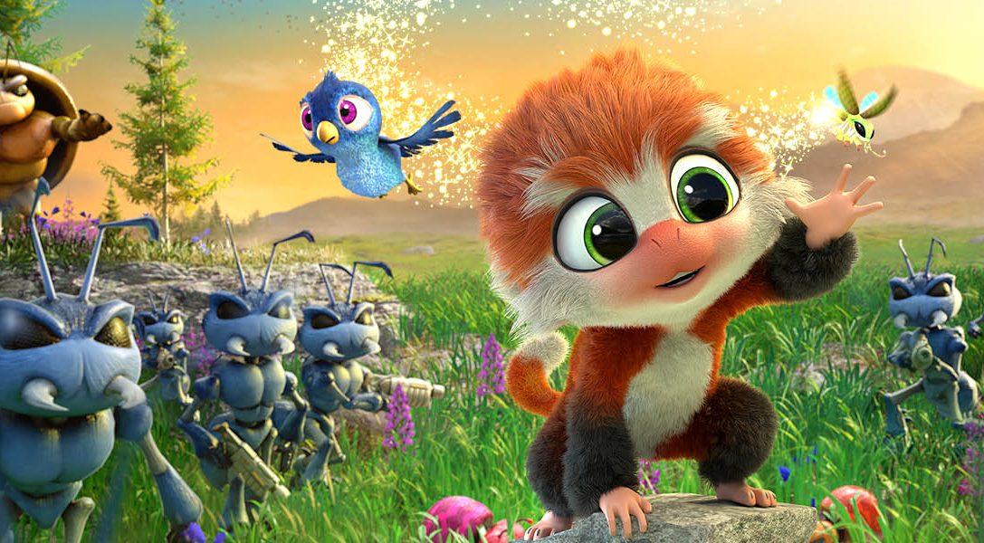 Regardez comment se bat un mignon petit singe armé jusqu'aux dents dans la bande-annonce du jeu de plate-forme Tamarin, bientôt sur PS4