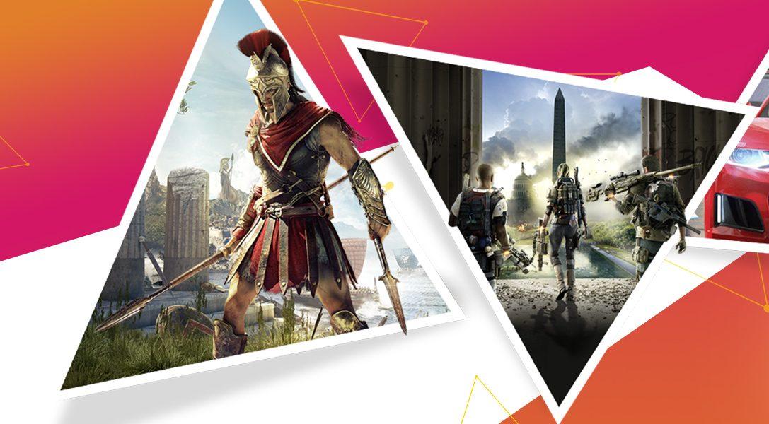 La promotion Ubisoft du PlayStation Store commence aujourd'hui