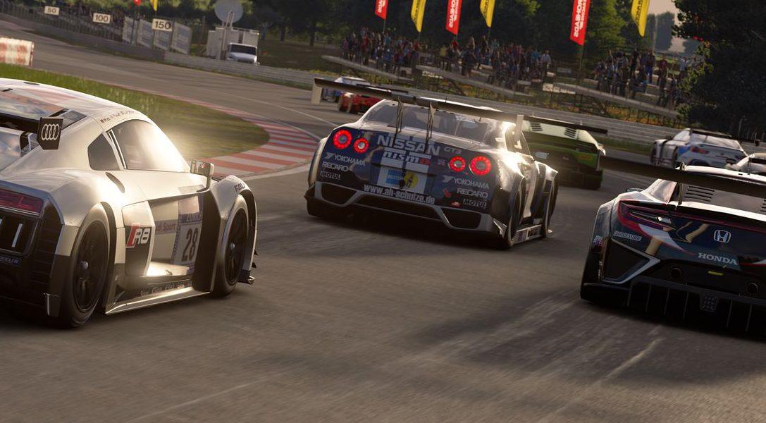 Les meilleurs pilotes de GT Sport s'affrontent ce week-end dans l'emblématique Red Bull Hangar-7