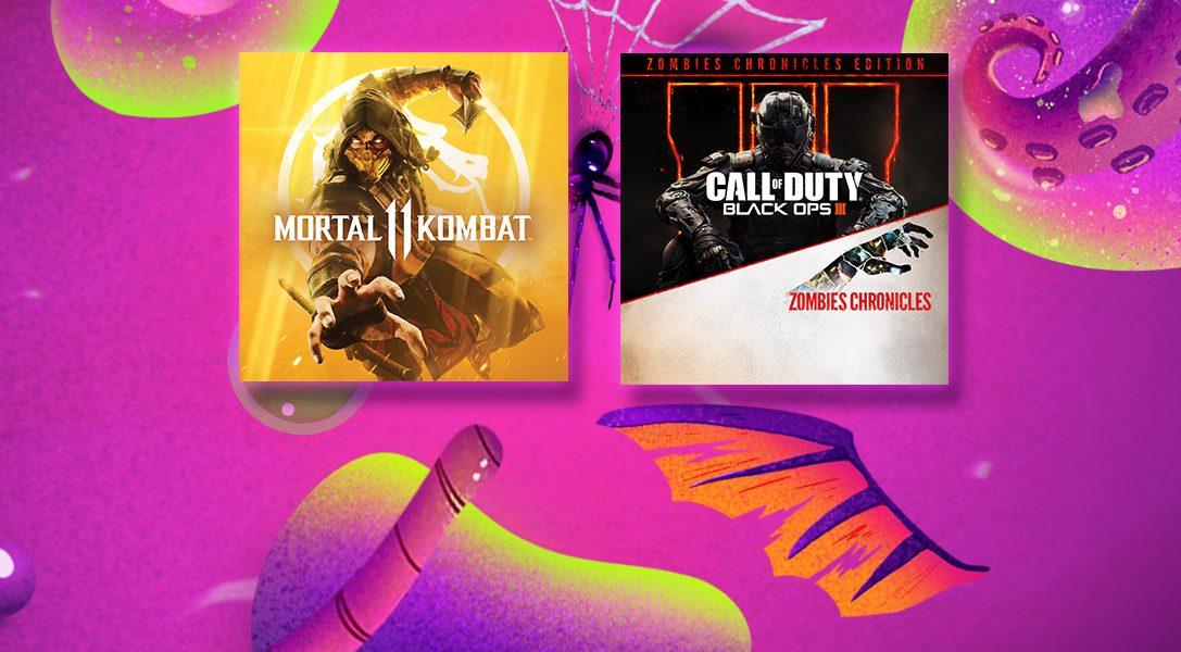 Les promotions d'Halloween commencent aujourd'hui sur le PlayStation Store