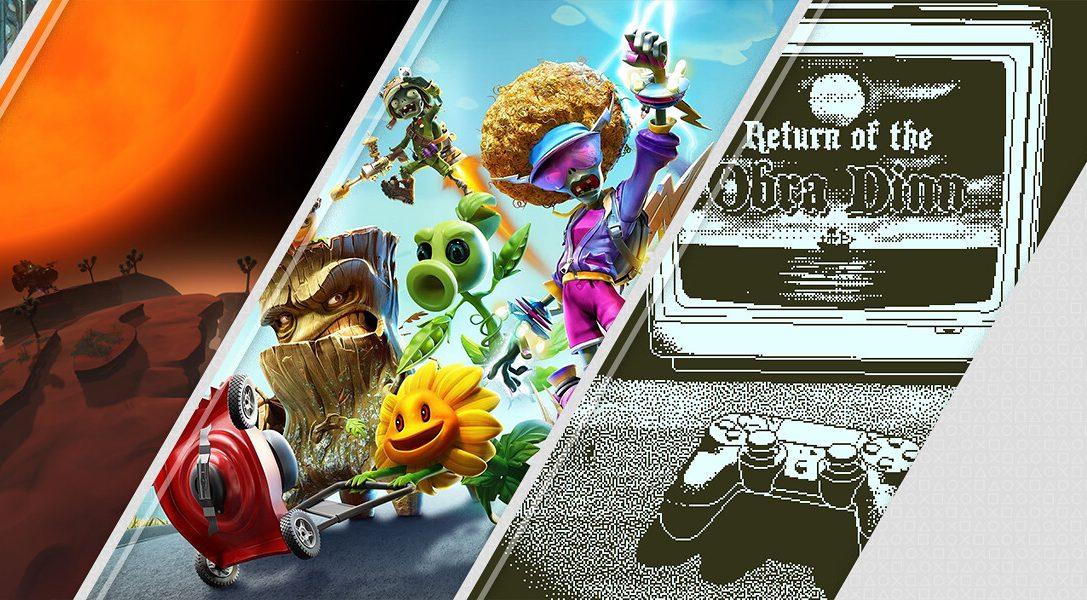 Découvrez les sorties du PlayStationStore de la semaine