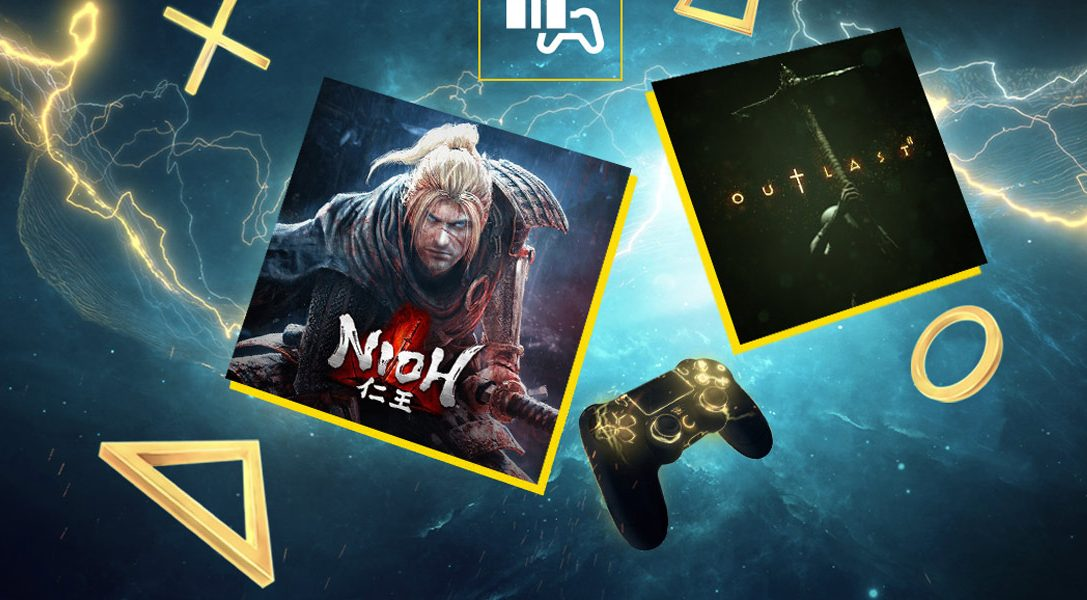 Nioh et Outlast 2 sont vos jeux PlayStation Plus du mois de novembre