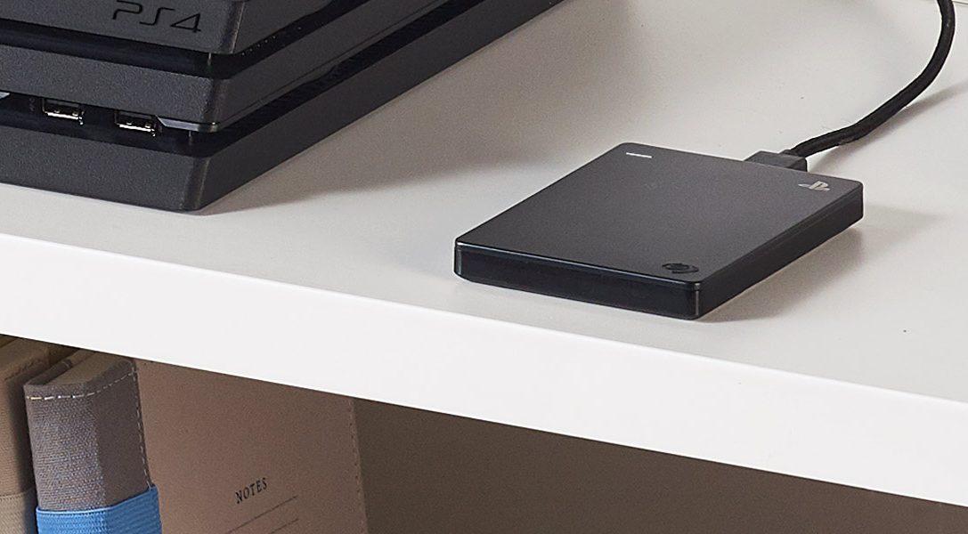 Le disque dur de jeu Seagate de 2 To pour PS4 sort en Europe aujourd'hui