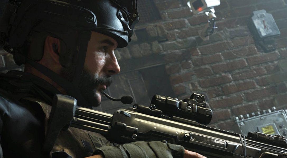 Nous vous présentons les nouveaux packs PS4 et PS4 Pro Call of Duty: Modern Warfare