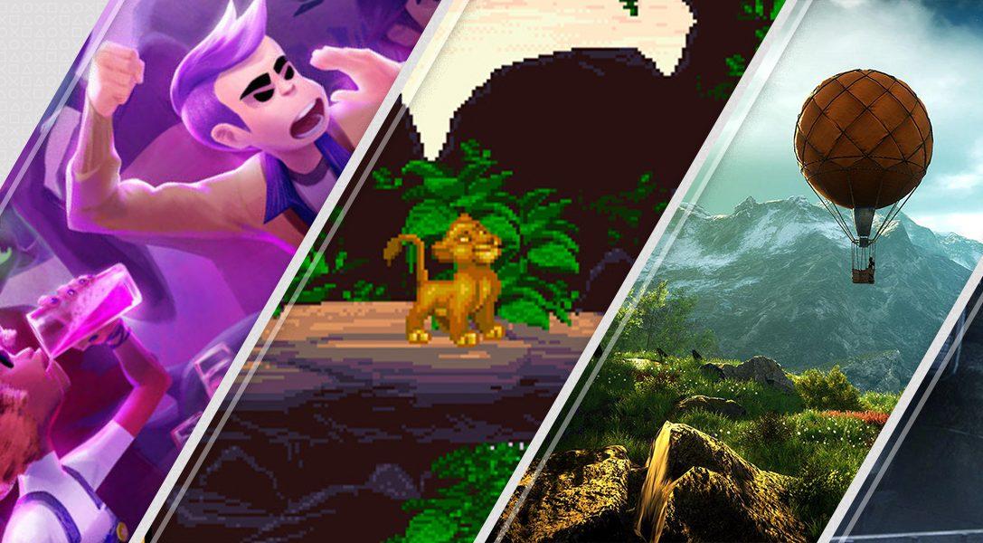 Voici les nouvelles sorties du PlayStationStore de la semaine