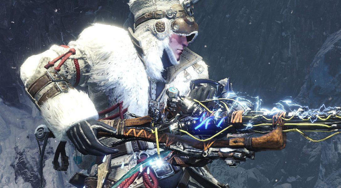 De nouveaux équipements issus du jeu Horizon Zero Dawn: The Frozen Wilds arrivent dans Monster Hunter World: Iceborne