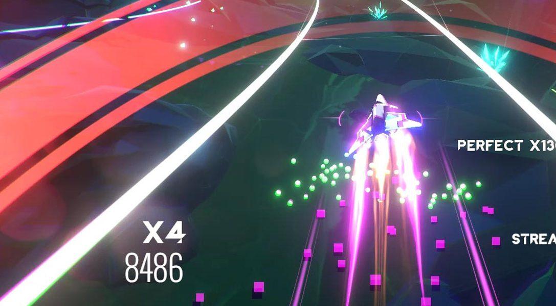 Le jeu de rythme et d'action AVICII Invector sort aujourd'hui sur PS4