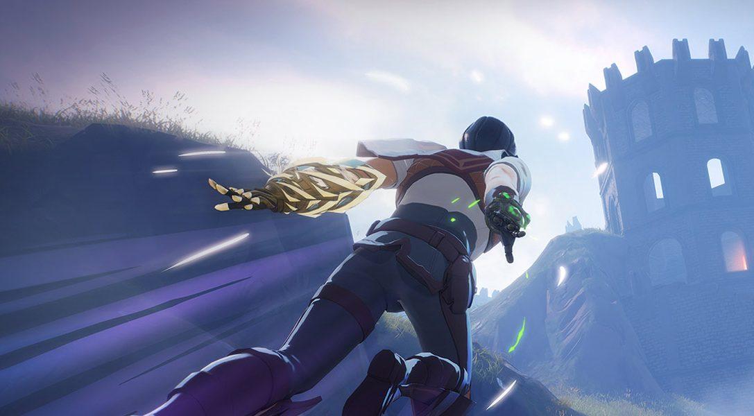 Le jeu de battle royale à thème fantasy Spellbreak arrive sur PS4