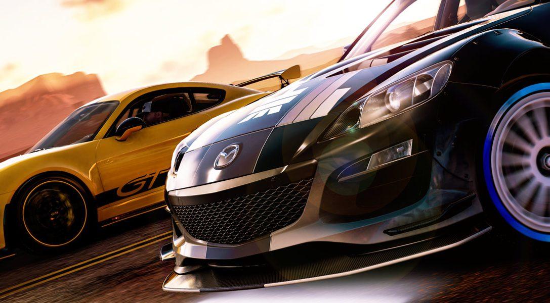 Jouez sans frais à The Crew 2 et sa mise à jour Blazing Shots ce week-end sur PS4
