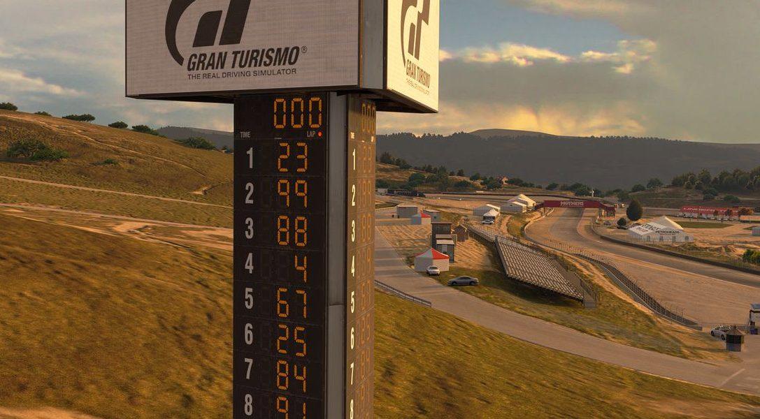 Gran Turismo Sport ajoute la légendaire Laguna Seca Raceway, 7 nouvelles voitures et de nouveaux défis GT League dès aujourd'hui