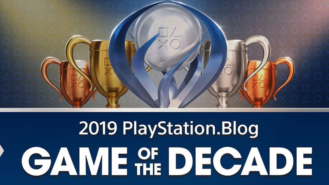 Le Jeu de la décennie du PlayStation Blog : les gagnants