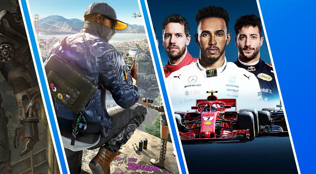 La promotion des Jeux À Moins de 20€ commence aujourd'hui sur le PlayStation Store