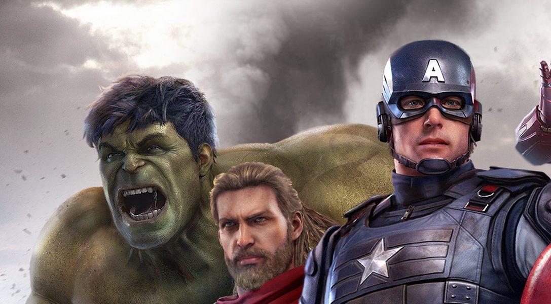 Marvel's Avengers: éditions spéciales, avantages de précommande et bien plus sur PS4