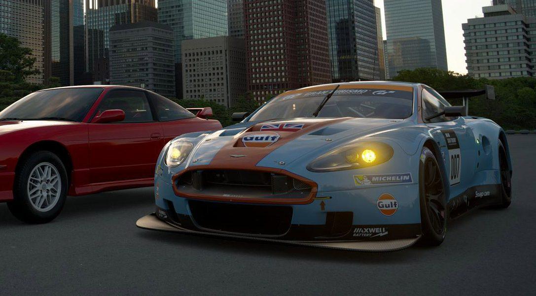 Gran Turismo Sport ajoute 3 nouvelles voitures dont l'Aston Martin DBR9 GT1