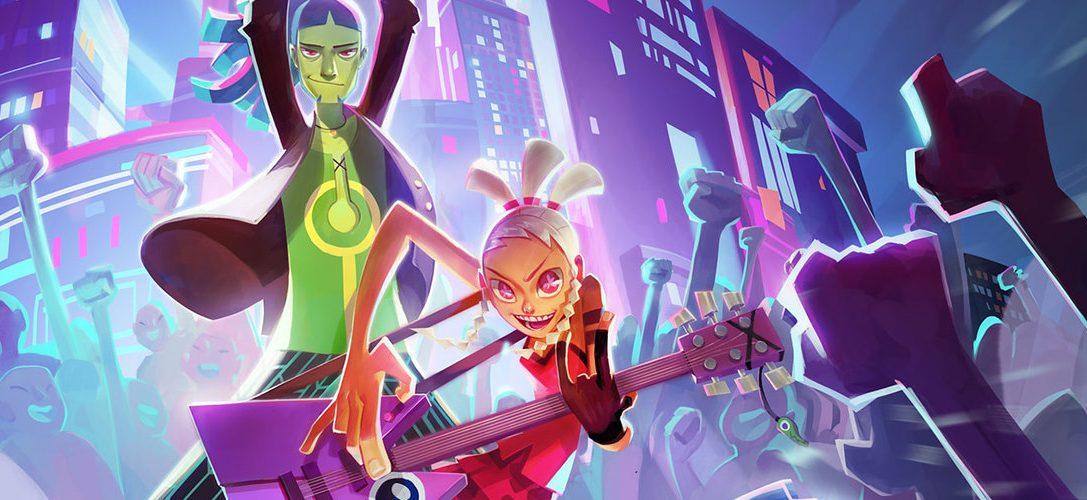 No Straight Roads apporte le jeu d'action dans un univers musical sur PS4 le 30 Juin!