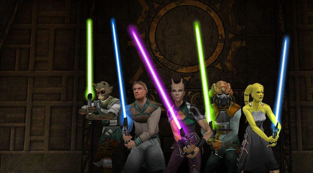 Star Wars Jedi Knight: Jedi Academy sort sur PlayStation 4 aujourd'hui