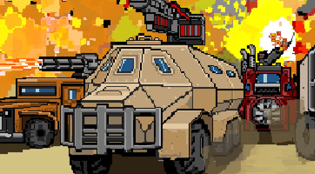 Convoy: A tactical roguelike débarque sur PS4 le 8 avril
