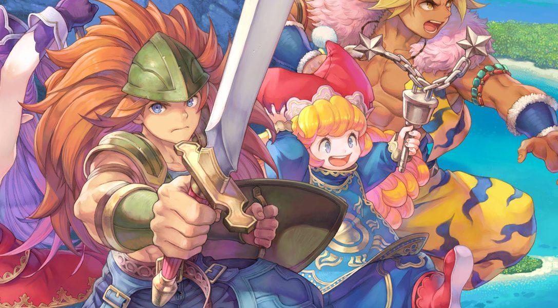 Les nouveautés du gameplay de Trials of Mana détaillées avant son lancement sur PS4 cette semaine
