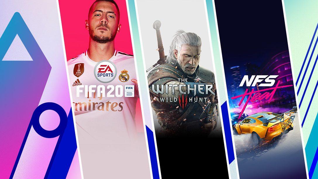 FIFA 20 Édition Champions, The Witcher 3: Wild Hunt GOTY Edition et bien d'autres rejoignent la promotion Extended Play du PS Store
