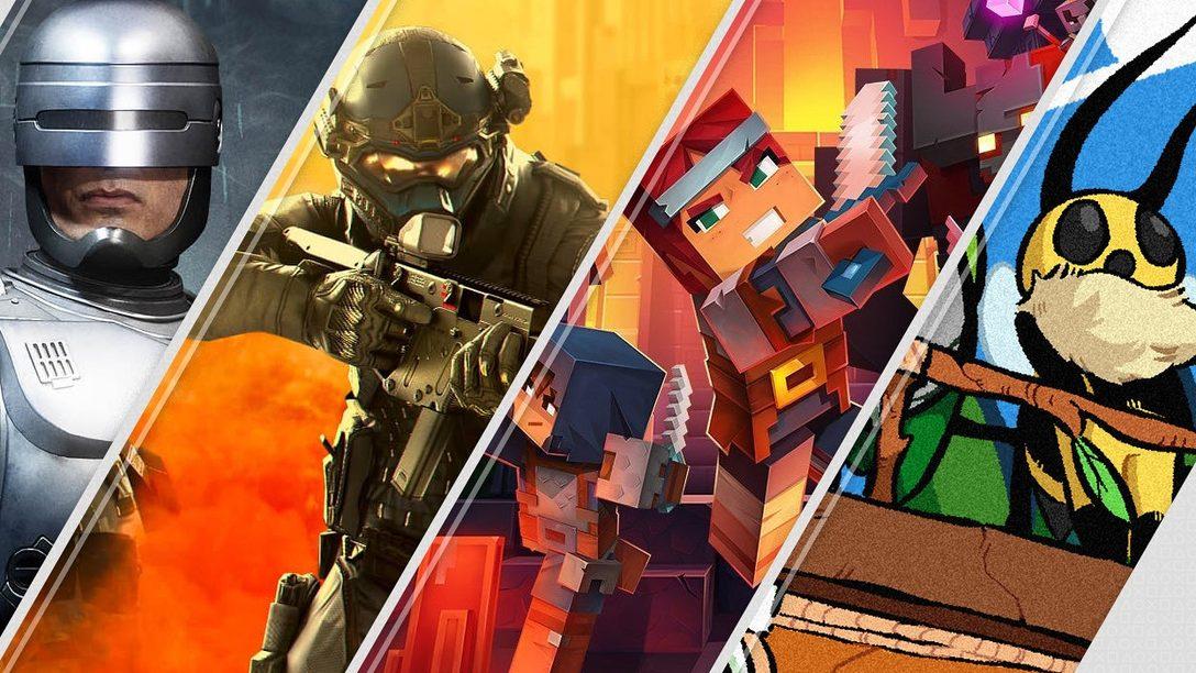 Mortal Kombat 11 Aftermath et Minecraft Dungeons sont à l'affiche des sorties du PlayStation Store