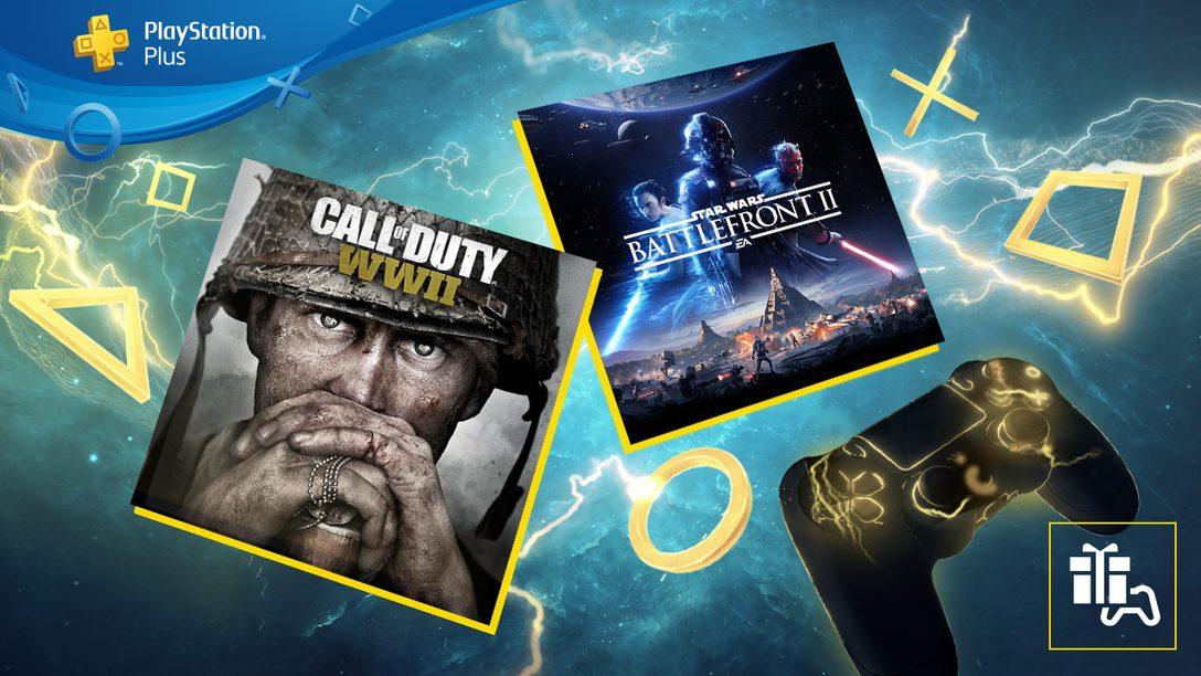 Star Wars Battlefront II et Call of Duty: WWII sont vos jeux PS Plus du mois de juin
