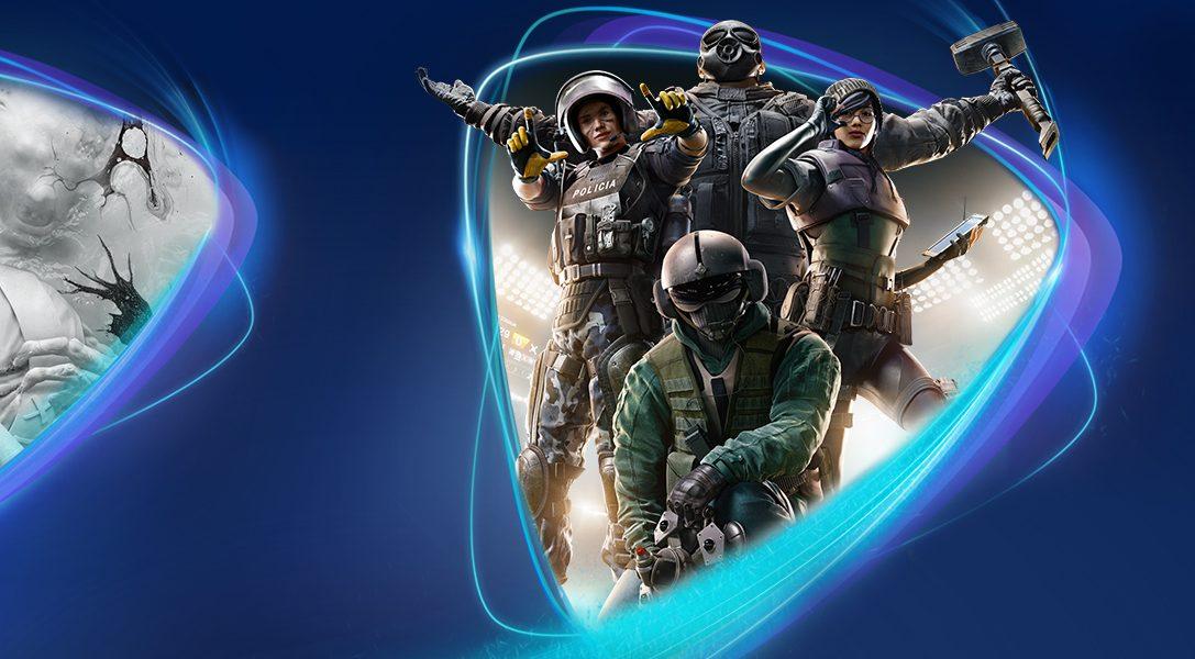 Tom Clancy's Rainbow Six Siege, The Evil Within 2 et Get Even débarquent sur PS Now en mai