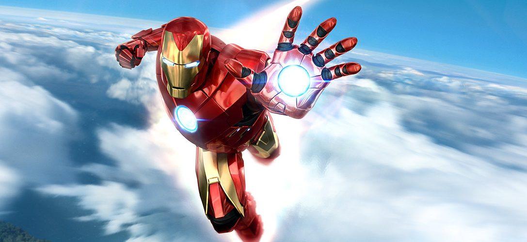 Mettez l'armure de l'Avenger blindé avec le pack Manette PlayStation Move Marvel's Iron Man VR, et téléchargez la démo !