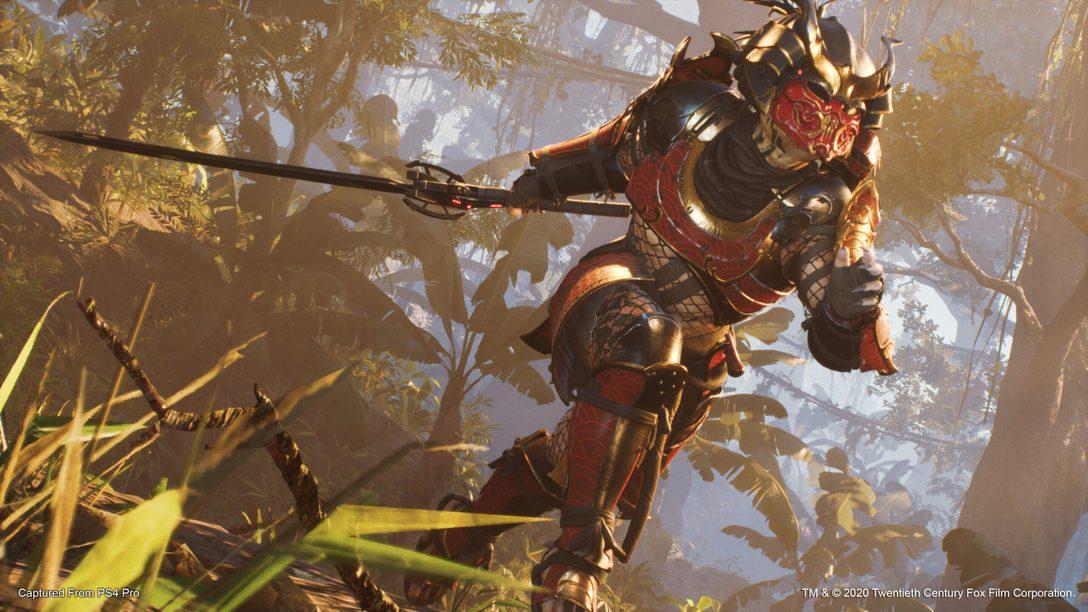 Le Predator Samouraï rejoint Predator: Hunting Grounds