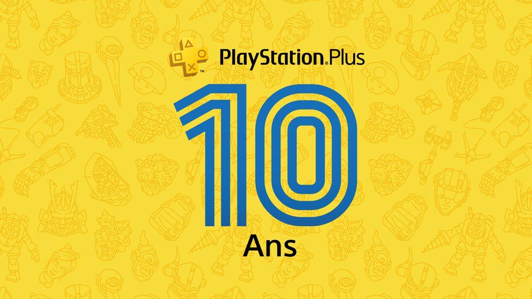 Merci à vous pour 10 ans de soutien au PS Plus! Et découvrez aussi les jeux PS Plus du mois de juillet.