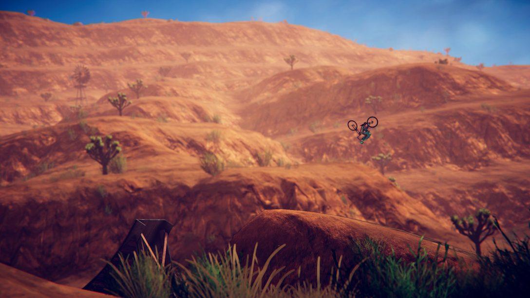 Montez en selle, Descenders arrive sur PS4 le 25 août