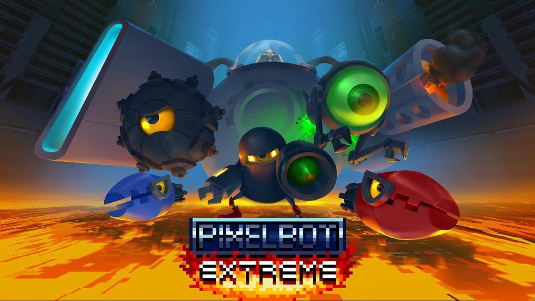 Ne faites plus qu'un avec votre manette grâce au jeu coloré et rétro Pixelbot Extreme