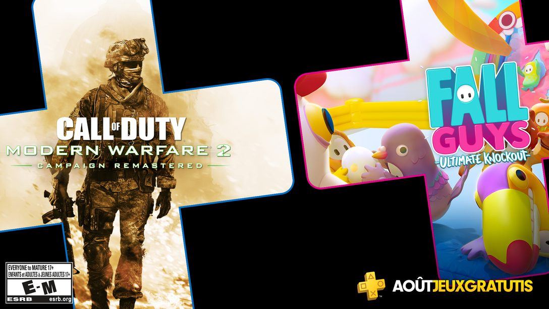 Les jeux PS Plus du mois d'août annoncés
