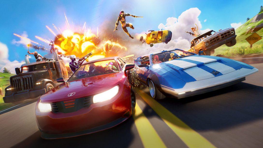 Accrochez vos ceintures, la mise à jour Folle Virée de Fortnite arrive sur PS4 aujourd'hui !