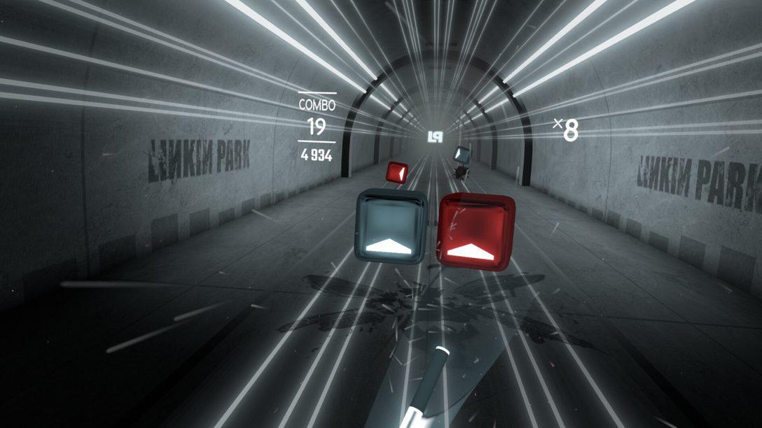 Le Linkin Park Music Pack arrive sur Beat Saber aujourd'hui.