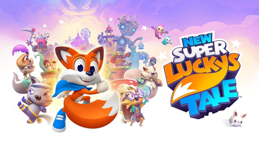 Partez à l'aventure dans New Super Lucky's Tale, disponible sur PlayStation 4 demain