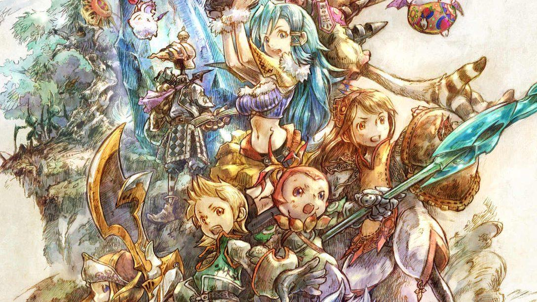 Profitez d'une visite guidée des magnifiques concept arts de Final Fantasy Crystal Chronicles Remastered Edition