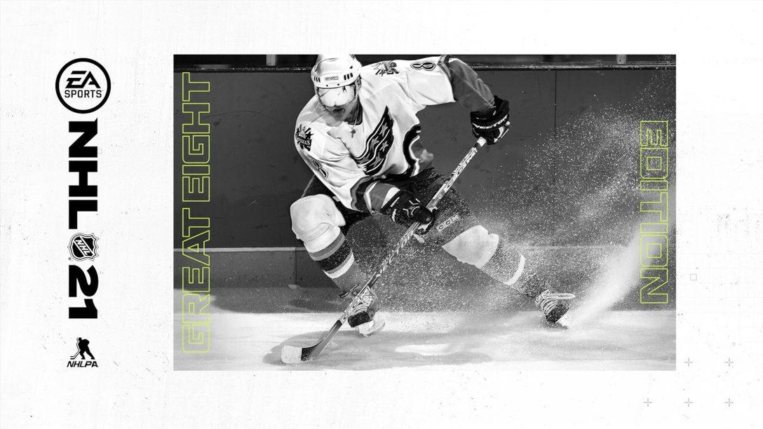 Alexander Ovechkin sur la jaquette de NHL 21