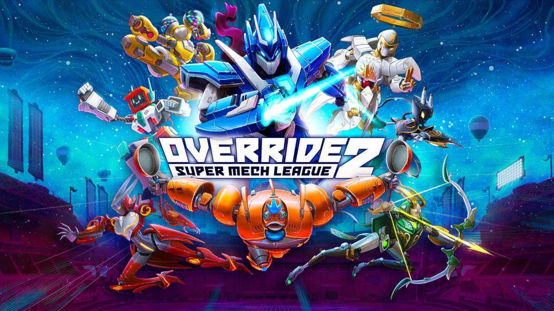 Override 2: Super Mech League a été annoncé sur la PlayStation 5 et la PlayStation 4