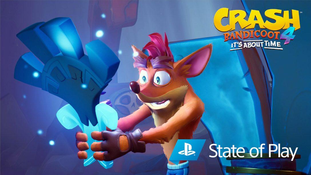 Le nouveau mode N. Verted, de nouveaux personnages jouables et bien plus encore ont été dévoilés pour Crash Bandicoot 4: It's About Time