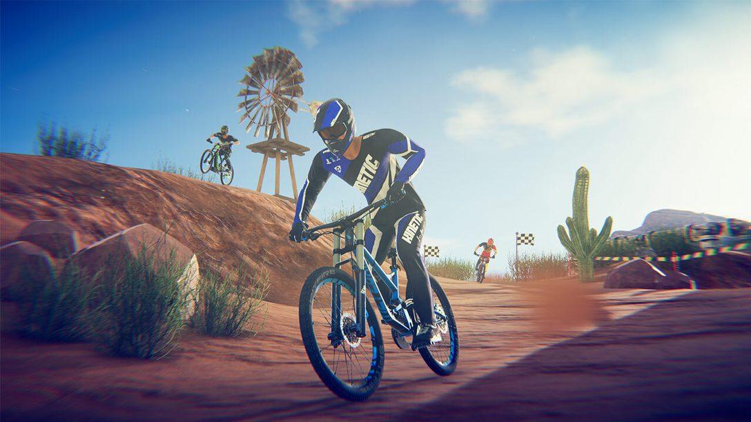 Descenders, le jeu multijoueur de descente VTT extrême est désormais disponible sur PlayStation 4