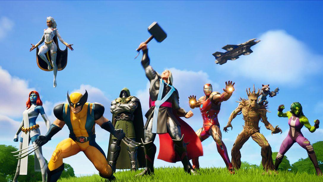 Devenez un super héros et sauvez le monde dans Fortnite Chapitre 2 – saison 4