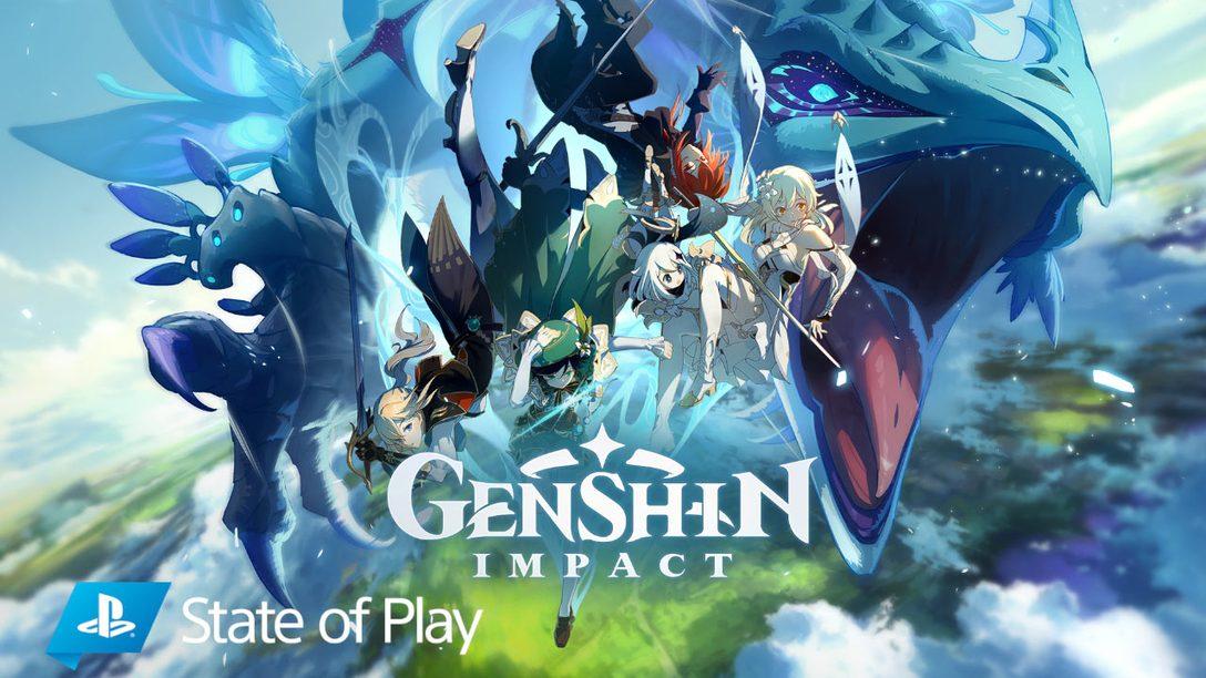 Genshin Impact arrive sur PS4 en automne