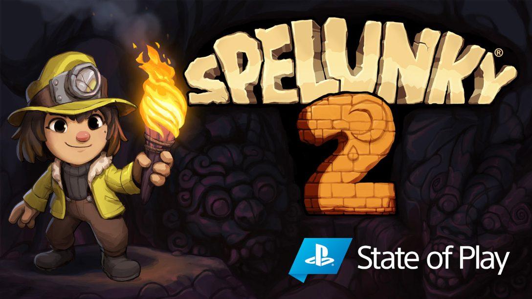 Spelunky 2 sortira sur PS4 le 15 septembre