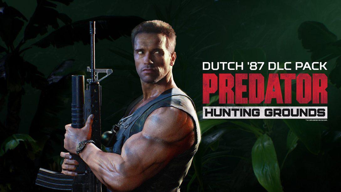 La version de 1987 de Dutch et une démo gratuite arrivent sur Predator: Hunting Grounds
