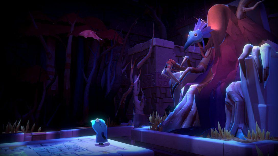 Naviguer à travers le monde déconcertant de The Last Campfire, disponible demain sur PS4
