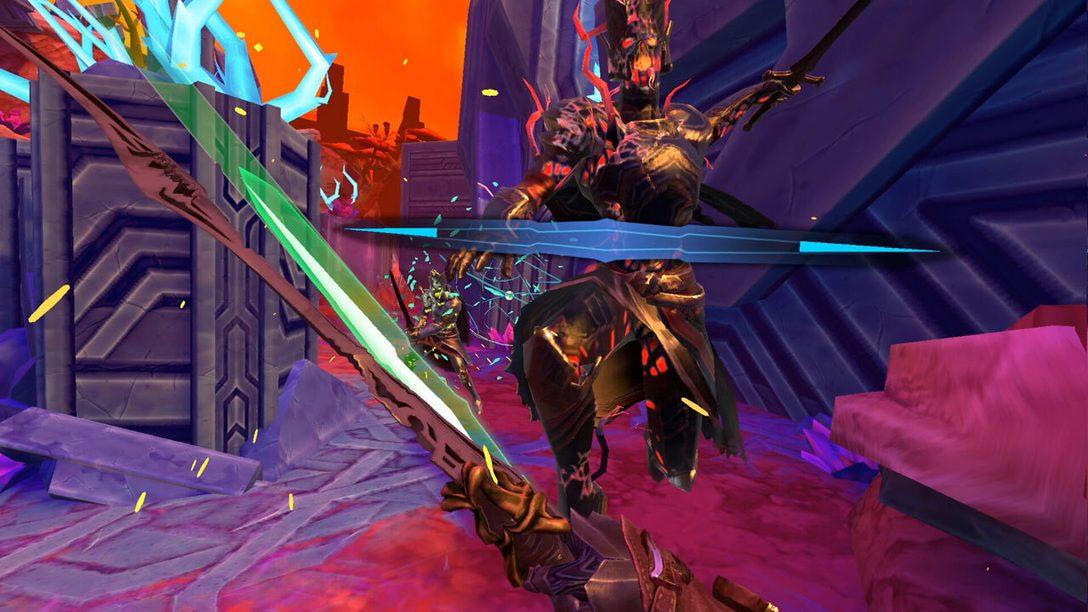 Devenez un dieu de l'épée dans Until You Fall sur PSVR